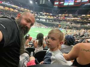 Pops attended Arizona Rattlers vs. Tucson Sugar Skulls - IFL on Jun 12th 2021 via VetTix