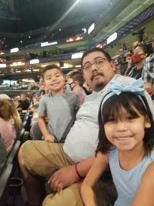 Jonathan Ruelas  attended Arizona Rattlers vs. Tucson Sugar Skulls - IFL on Jun 12th 2021 via VetTix