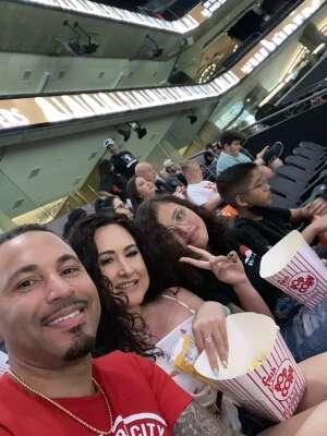 Taj attended Arizona Rattlers vs. Tucson Sugar Skulls on Jun 12th 2021 via VetTix