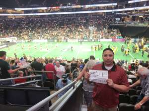 Ian Dume attended Arizona Rattlers vs. Tucson Sugar Skulls - IFL on Jun 12th 2021 via VetTix