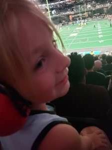 Nick attended Arizona Rattlers vs. Tucson Sugar Skulls on Jun 12th 2021 via VetTix