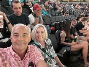 Jack attended Arizona Rattlers vs. Tucson Sugar Skulls on Jun 12th 2021 via VetTix