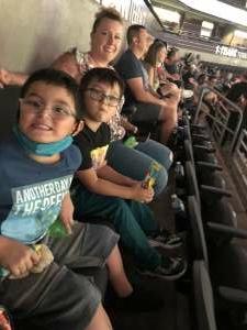 Nic attended Arizona Rattlers vs. Tucson Sugar Skulls on Jun 12th 2021 via VetTix