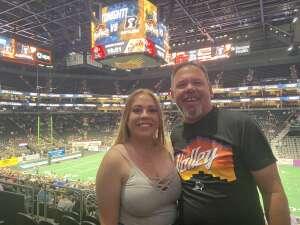 Kelly attended Arizona Rattlers vs. Tucson Sugar Skulls on Jun 12th 2021 via VetTix