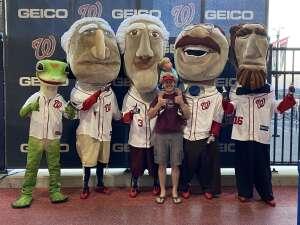 Stewart attended Washington Nationals vs. Pittsburgh Pirates - MLB on Jun 15th 2021 via VetTix