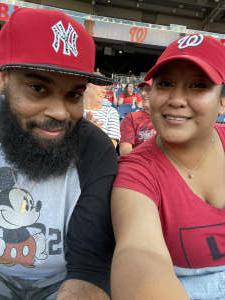 Latasha attended Washington Nationals vs. Pittsburgh Pirates - MLB on Jun 15th 2021 via VetTix