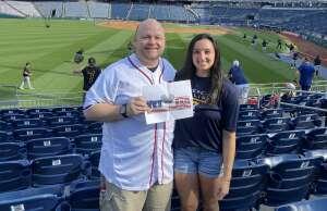 Dale attended Washington Nationals vs. Pittsburgh Pirates - MLB on Jun 15th 2021 via VetTix