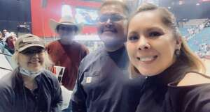 Miranda Anderson attended PBR Unleash the Beast on Jun 11th 2021 via VetTix