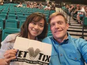 Aaron and Sharon attended PBR Unleash the Beast on Jun 12th 2021 via VetTix