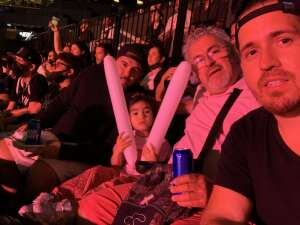 Esteban attended Brooklyn Nets vs. Milwaukee Bucks - NBA - Second Round Playoffs! Game 1 ** Vaccinated Fan Section Only ** on Jun 5th 2021 via VetTix