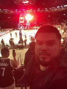 Julio attended Brooklyn Nets vs. Milwaukee Bucks - NBA - Second Round Playoffs! Game 1 ** Vaccinated Fan Section Only ** on Jun 5th 2021 via VetTix