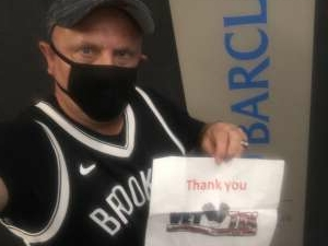 Alex - USMC attended Brooklyn Nets vs. Milwaukee Bucks - NBA - Second Round Playoffs! Game 1 ** Vaccinated Fan Section Only ** on Jun 5th 2021 via VetTix