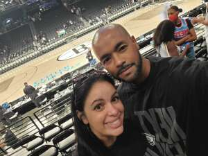 Curtis B. attended Brooklyn Nets vs. Milwaukee Bucks - NBA - Second Round Playoffs! Game 1 ** Vaccinated Fan Section Only ** on Jun 5th 2021 via VetTix