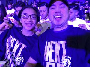 Yip  attended Brooklyn Nets vs. Milwaukee Bucks - NBA - Second Round Playoffs! Game 1 ** Vaccinated Fan Section Only ** on Jun 5th 2021 via VetTix
