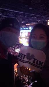 Ryu attended Brooklyn Nets vs. Milwaukee Bucks - NBA - Second Round Playoffs! Game 1 ** Vaccinated Fan Section Only ** on Jun 5th 2021 via VetTix