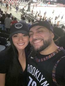 Walter Canales attended Brooklyn Nets vs. Milwaukee Bucks - NBA - Second Round Playoffs! Game 1 ** Vaccinated Fan Section Only ** on Jun 5th 2021 via VetTix