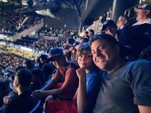 Austin Baltensperger attended Brooklyn Nets vs. Milwaukee Bucks - NBA - Second Round Playoffs! Game 1 ** Vaccinated Fan Section Only ** on Jun 5th 2021 via VetTix