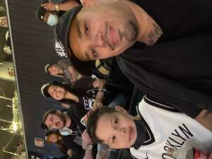 Roberto  Grijalva attended Brooklyn Nets vs. Milwaukee Bucks - NBA - Second Round Playoffs! Game 1 ** Vaccinated Fan Section Only ** on Jun 5th 2021 via VetTix
