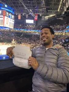 Justin Rogers attended Brooklyn Nets vs. Milwaukee Bucks - NBA - Second Round Playoffs! Game 1 ** Vaccinated Fan Section Only ** on Jun 5th 2021 via VetTix
