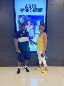 Ronald Jenkins  attended Phoenix Mercury vs. Dallas Wings on Jun 8th 2021 via VetTix