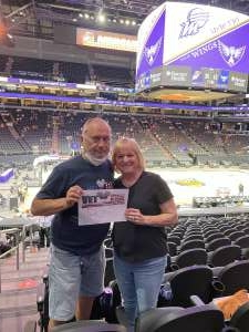 Whites  attended Phoenix Mercury vs. Dallas Wings on Jun 8th 2021 via VetTix
