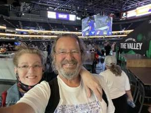 Richie Krug attended Phoenix Mercury vs. Dallas Wings on Jun 8th 2021 via VetTix