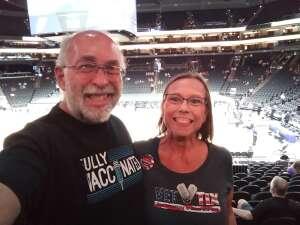 Bruce and Holly attended Phoenix Mercury vs. Dallas Wings on Jun 8th 2021 via VetTix