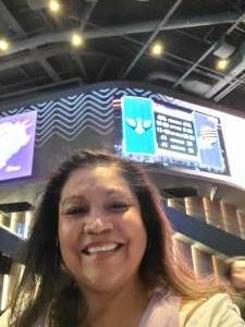 Linda attended Phoenix Mercury vs. Dallas Wings on Jun 8th 2021 via VetTix