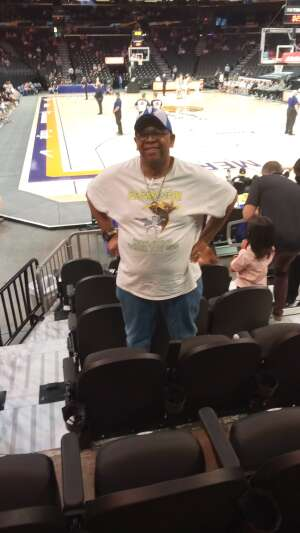 J attended Phoenix Mercury vs. Dallas Wings on Jun 8th 2021 via VetTix