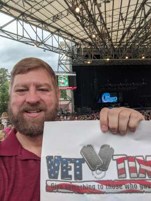 James attended An Evening With Chicago and Their Greatest Hits on Jun 30th 2021 via VetTix