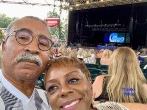 Allen attended An Evening With Chicago and Their Greatest Hits on Jun 30th 2021 via VetTix