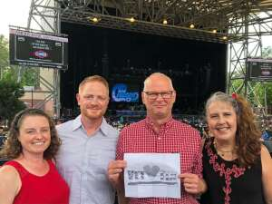 Steve and Sharon attended An Evening With Chicago and Their Greatest Hits on Jun 30th 2021 via VetTix