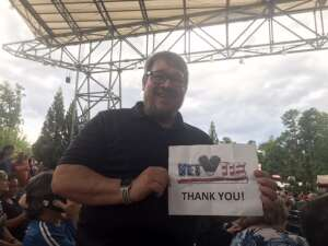 Brad attended An Evening With Chicago and Their Greatest Hits on Jun 30th 2021 via VetTix