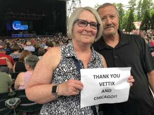 Jim M attended An Evening With Chicago and Their Greatest Hits on Jun 30th 2021 via VetTix