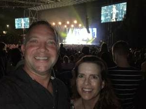 Jeff and Melanie Adamson attended An Evening With Chicago and Their Greatest Hits on Jun 30th 2021 via VetTix