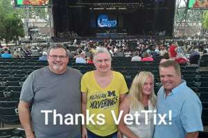 David Bridgeman  attended An Evening With Chicago and Their Greatest Hits on Jun 30th 2021 via VetTix