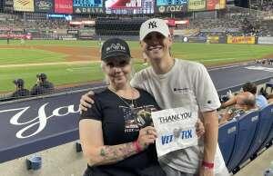 Mike attended New York Yankees vs. Boston Red Sox - MLB - Premium Seating on Jun 6th 2021 via VetTix