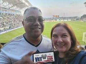 Lamont attended Philadelphia Union vs. Columbus Crew - MLS on Jun 23rd 2021 via VetTix