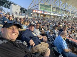 Richard attended Philadelphia Union vs. Columbus Crew - MLS on Jun 23rd 2021 via VetTix