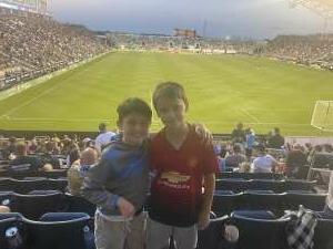 Daniel Acosta attended Philadelphia Union vs. Columbus Crew - MLS on Jun 23rd 2021 via VetTix