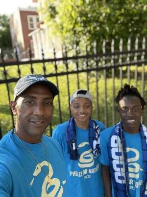 Williams  attended Philadelphia Union vs. Columbus Crew - MLS on Jun 23rd 2021 via VetTix