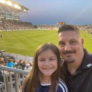 Andrew attended Philadelphia Union vs. Columbus Crew - MLS on Jun 23rd 2021 via VetTix