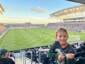 Stephanie F. attended Philadelphia Union vs. Columbus Crew - MLS on Jun 23rd 2021 via VetTix