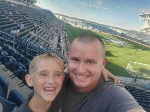 Michael and Jacob  attended Philadelphia Union vs. Columbus Crew - MLS on Jun 23rd 2021 via VetTix