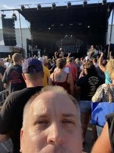 Nathan Machula attended Night Ranger on Jul 11th 2021 via VetTix