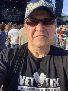 Mike attended Night Ranger on Jul 11th 2021 via VetTix