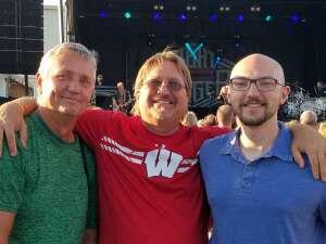 Michael attended Night Ranger on Jul 11th 2021 via VetTix