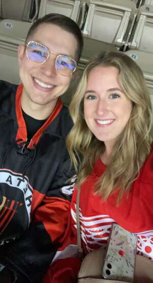 AB attended Indy Fuel vs. Greenville Swamp Rabbits - ECHL ** Playoffs Game 1 ** on Jun 8th 2021 via VetTix