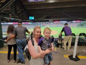 Nicole attended Colorado Rockies vs. Milwaukee Brewers - MLB on Jun 18th 2021 via VetTix