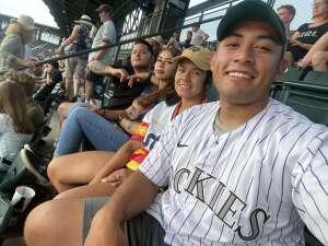 James attended Colorado Rockies vs. Milwaukee Brewers - MLB on Jun 18th 2021 via VetTix
